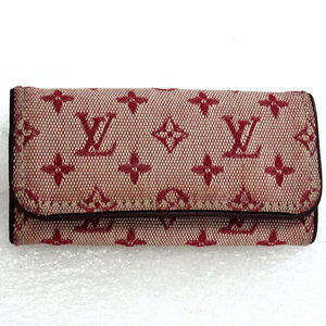 Auth LOUIS VUITTON Mini Lin Multicles Wallet Case